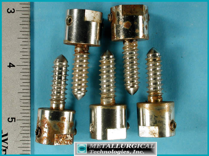 Analysis of CORRODED STAINLESS STEEL BOLTS
