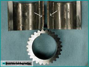 ANALYSIS OF A CRACKED SPLINED COUPLING